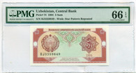 Uzbekistan 1994 3 Sum Pick #74 Gem UNC 66EPQ PMG