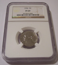 1954 Jefferson Nickel Proof PF69 NGC