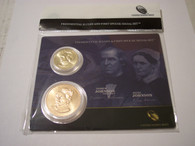 U.S. Mint Set 2011 Johnson Presidential Dollar/First Spouse Medal