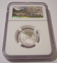 2019 S Silver River of No Return NP Quarter Proof PF70 UC NGC First Releases