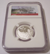 2019 S Silver American Memorial Park Quarter Proof PF70 UC NGC First Releases