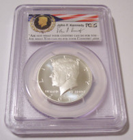 2014 S Silver Kennedy Half Dollar Enhanced MS70 PCGS FS 50th Anniversary Set