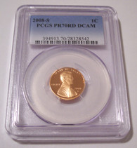 2008 S Lincoln Memorial Cent Proof PR70 RED DCAM PCGS