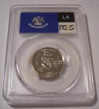 2002 S Clad Louisiana State Quarter Proof PR70 DCAM PCGS Flag Label