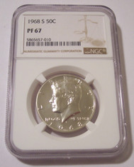 1968 S Kennedy Half Dollar Proof PF67 NGC