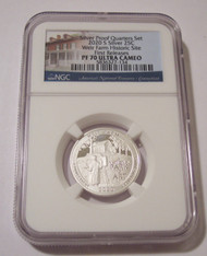 2020 S Silver Weir Farm NP Quarter Proof PF70 UC NGC First Releases