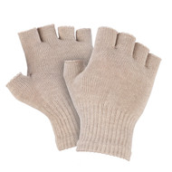 Silver Gloves - 8% - Fingerless - Twin Pack