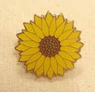 Sunflower Pin Badges