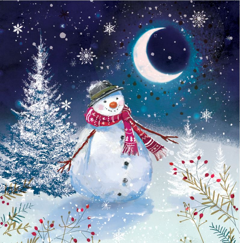 Christmas Cards Images.Snowman Christmas Cards