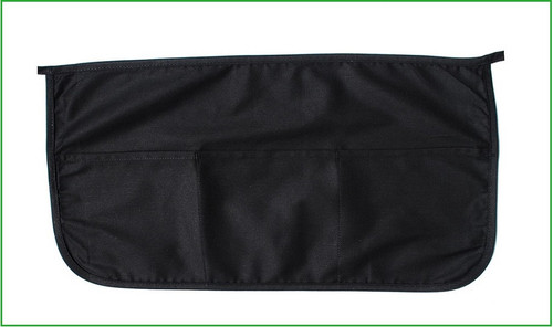 """Wholesale 22""""x12"""" Black Cotton Twill Waist Apron with 3 pockets. Perfect for arts & crafts, advertising, promotional, customizing, personalizing, school, church, wedding, shopping, groceries, fundraising, artists, gifts, resale & everyday use."""