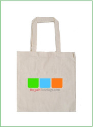 "15""x16"" Natural or White Cotton Tote Bag with Full Color Imprint. Customize it, personalize it, promote it, resell it, with your photo, logo, artwork."