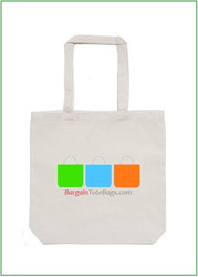 "16""x16""x4"" Natural Cotton Twill Tote Bag with Full Color Imprint, 8 oz 100% cotton twill. Customize it, personalize it, promote it, resell it, with your photo, logo, artwork."