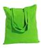 """Wholesale 15""""x16"""" color cotton tote bags - Lime"""