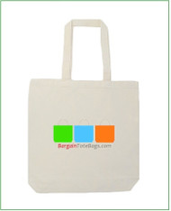 "15""x15""x4"" Natural 6 oz or White 5 oz Cotton Tote Bag with Full Color Imprint, 100% cotton. Customize it, personalize it, promote it, resell it, with your photo, logo, artwork."