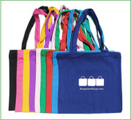 "15""x15"" Color Canvas Tote Bag with one Color Screen"
