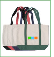 "19""x14""x5"" Boat bag with full color imprint"