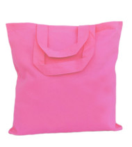 "13""x13"" cotton color tote bags"