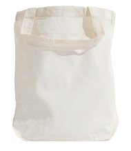 "Wholesale 13""x13""x4"" Natural Cotton Tote Bag"