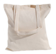 "Wholesale 15""x16"" Natural Cotton Twill Tote Bag"