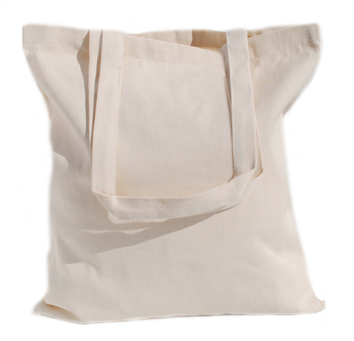 "Wholesale 15""x16"" Natural Cotton Twill Tote Bag"