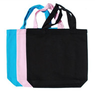 """Wholesale 13""""x13""""x3"""" Color Cotton Twill Tote Bags, 8 oz 100% premium cotton twill. Perfect for arts & crafts, advertising, parties, books, promotional, customizing, personalizing, school, church, wedding, shopping, groceries, fundraising, artists, gifts, resale & everyday use."""
