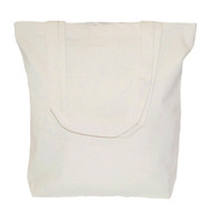 "Wholesale 15""x15""x4"" Natural Cotton Canvas Tote Bag"