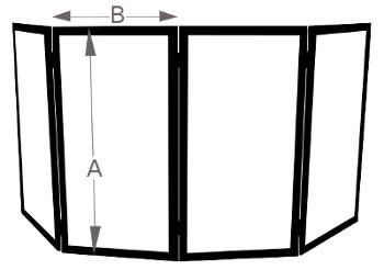 DJ Facade Bag Diagram Unfolded