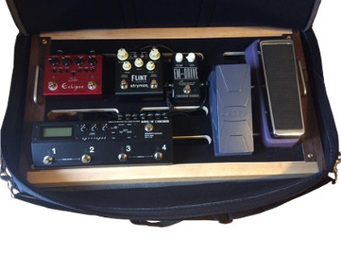 Pedal Board bag open view