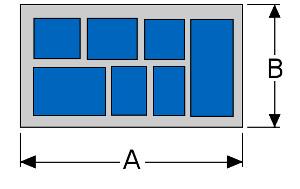 Pedal Board diagram top view