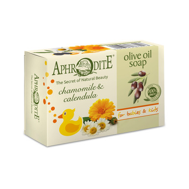 A mild olive oil soap with chamomile and calendula extracts for sensitive skin. Excellent for baby skin