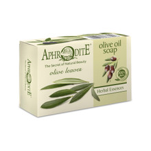 Contains olive leaves which are antiseptic and antibacterial. Perfect for sensitive skin