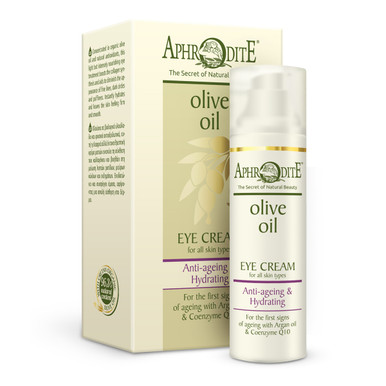 An ultra nourishing formula for your eyes. Only Aphrodite eye cream tones and firms the skin around your eyes, while helps to reduce fine lines and black circles