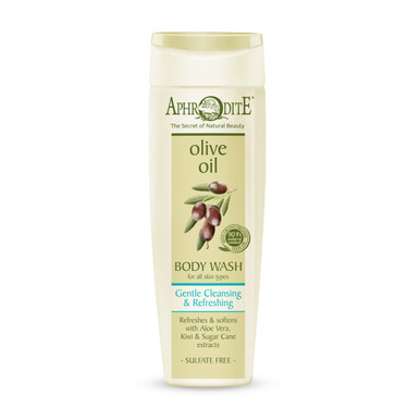 A sulfate free body cleanser gently washes away impurities leaving the skin soft and supple