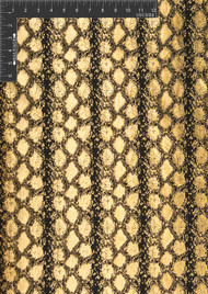Anaconda Polyester Metallic Jacquard Designer Animal Print Fabric by the Yard