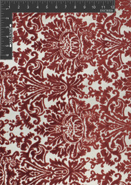 Dawn Polyester Rayon Blended Novelty Velvet Burnout Designer Damask Fabric by the Yard