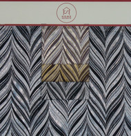 Herring Bone Hanger Polyester Novelty Metallic Jacquard Designer Chevron Fabric by the Yard