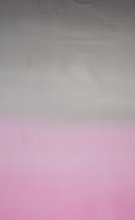 100% Silk Hand Painted Georgette Fabric - 101-Ombre-G