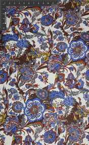 Hippi Dippi - 100% Silk Printed Double Jersey Fabric - 100% Silk - HUA/001-J