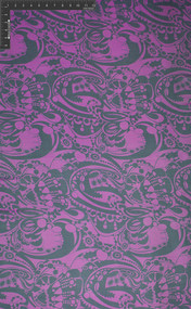 Bal Harbour 100% Silk Printed Yard Dyed Georgette Fabric - HUA/007-YDG