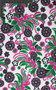 Girlometry Printed Silk Cotton Voile Blended Floral Fabric by the Yard