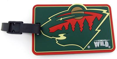 Minnesota Wild Luggage Tag