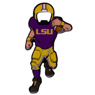LSU Magnetic Football Player Bottle Opener