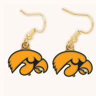 University Of Iowa Dangle Earrings