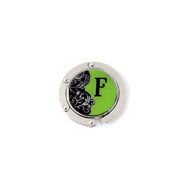 Finders Key Purse Hanger Letter F