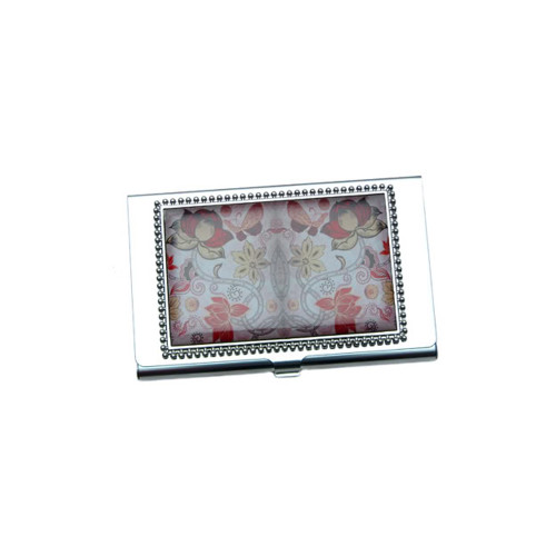 Floral Business Card ID Case