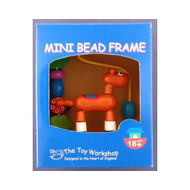 Wooden Mini Pony Bead Frame by The Toy Workshop