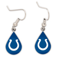 Indianapolis Colts Tear Drop Earrings
