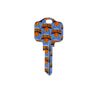 New York Knicks Kwikset KW1 House Key