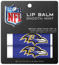 Baltimore Ravens Lip Balm 2pk