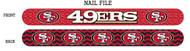 San Francisco 49ers Nail File